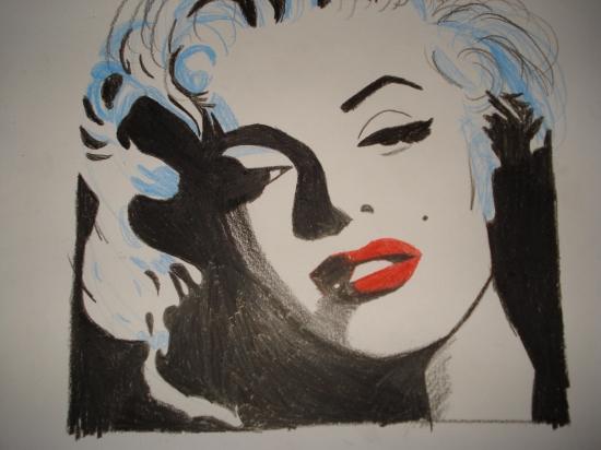 Marilyn Monroe by Murmullo